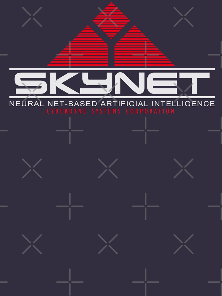 Skynet Smaller Logo Terminator T-shirt Unisex