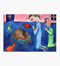 Nativity Scene Photographic Print