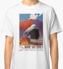 Empire State Express Vintage Poster Restored Classic T-Shirt