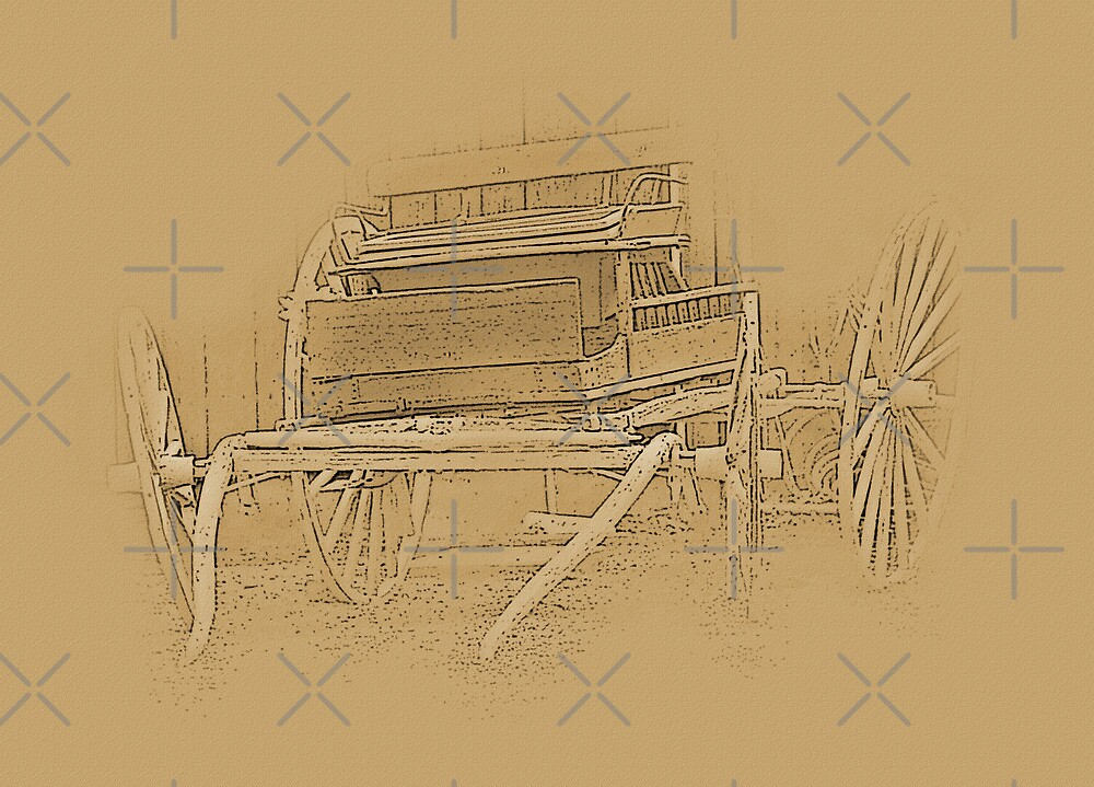 The Old Wagon by CarolM