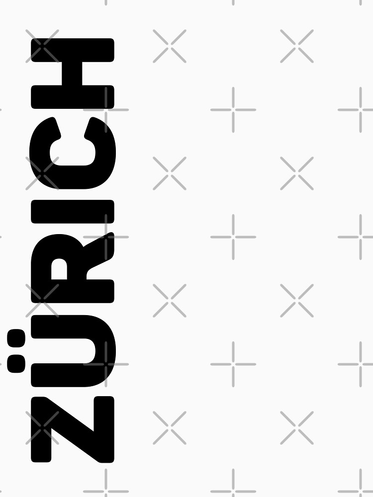 Zurich T-Shirt by designkitsch