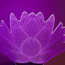 3D Lotus Blumenlampe von TJ Baccari Photography