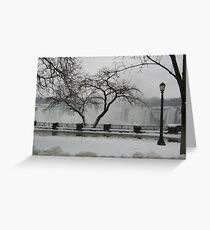 Niagara Cold Greeting Card