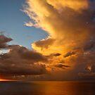 Sunrise at Mtwapa, Kenya by David Clarke