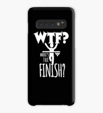 Funny Where's The Finish gift Case/Skin for Samsung Galaxy