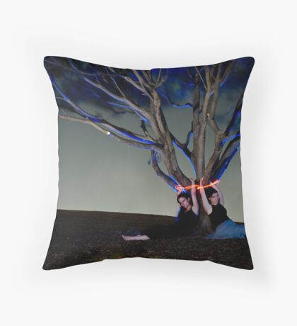 The Waiting Game Throw Pillow