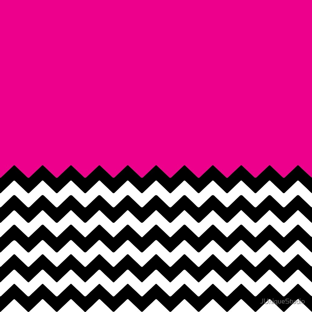 Pink Chevron by JUniqueStudio