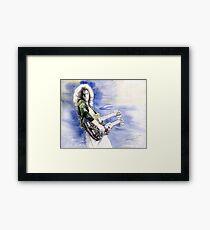 Led Zeppelin Jimi Page Framed Print
