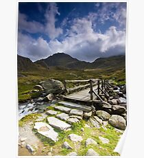 To Tryfan - North Wales Poster
