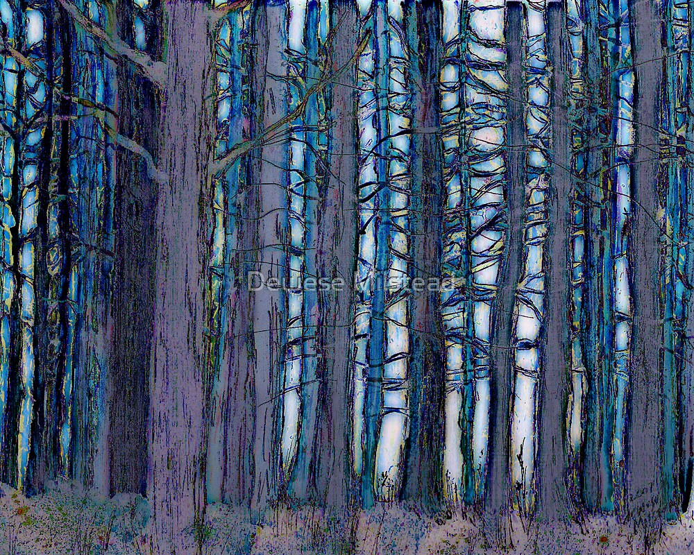 Mississippi Forest by Dewese Milstead