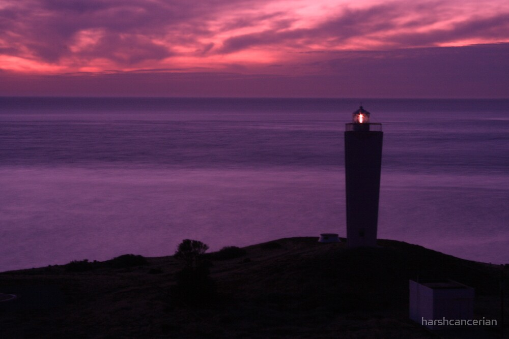 Lighthouse @ Cape Jervis, SA by harshcancerian