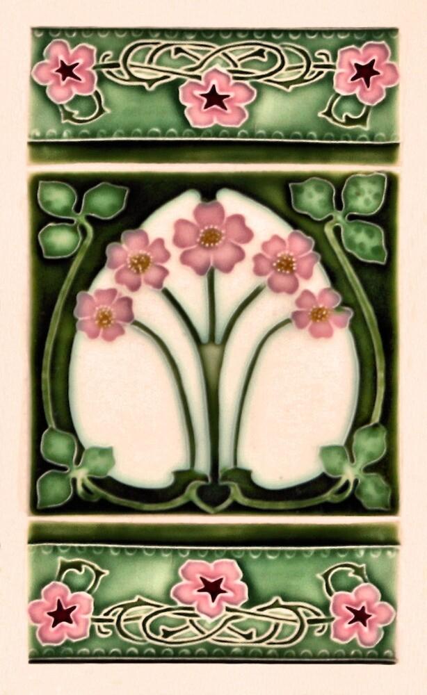 art nouveau ceramic by Christopher Biggs