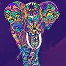 Not a circus elephant by Bizzartino