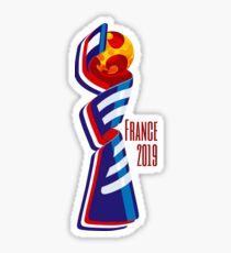 Pegatina Copa Mundial Femenina 2019 Logo