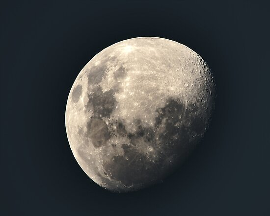 Moon by Graeme-Mellor