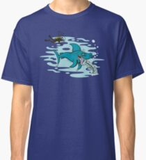 Disgusted Shark Classic T-Shirt