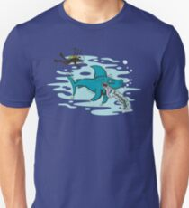 Disgusted Shark Unisex T-Shirt