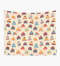 Knitted Wool Hats Tapestry