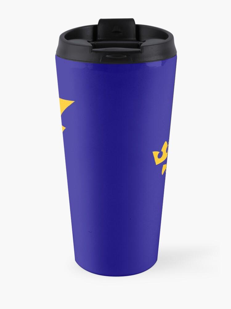 Alternate view of Sparky Nouveau - Gold Travel Mug