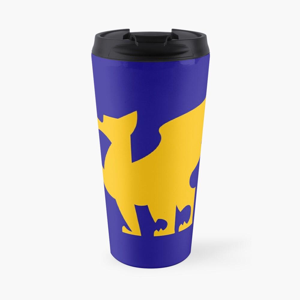 Sparky Nouveau - Gold Travel Mug