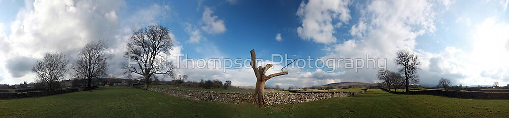 Carparby Panorama by Paul Thompson Photography