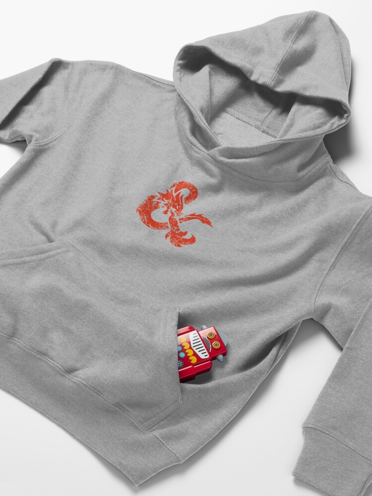 Alternate view of Dungeons & Dragons (Red) Kids Pullover Hoodie