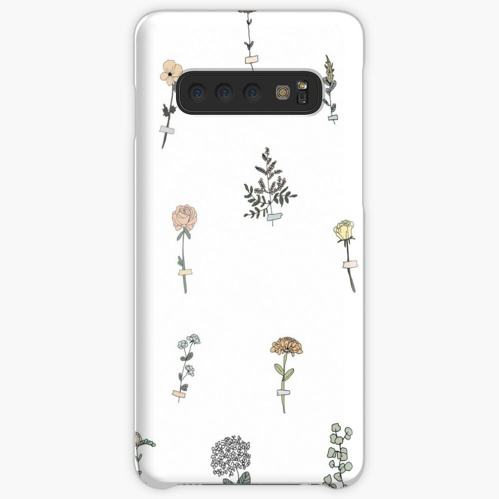 Tiny Flower Set Case & Skin for Samsung Galaxy