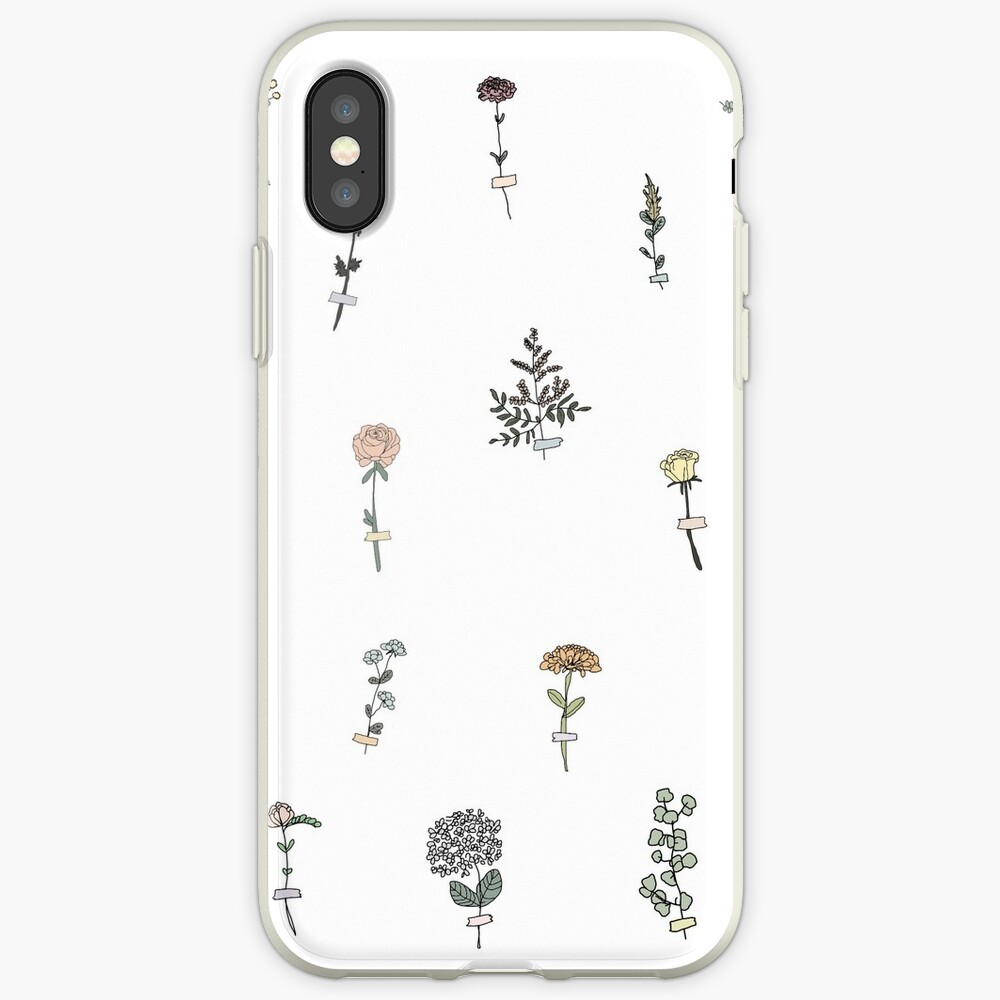 Tiny Flower Set iPhone Case & Cover