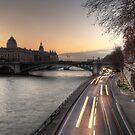 Along the Seine by Irina-C