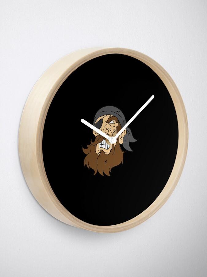 Alternative Ansicht von Pirate pirate head sailor lake gift laugh Uhr