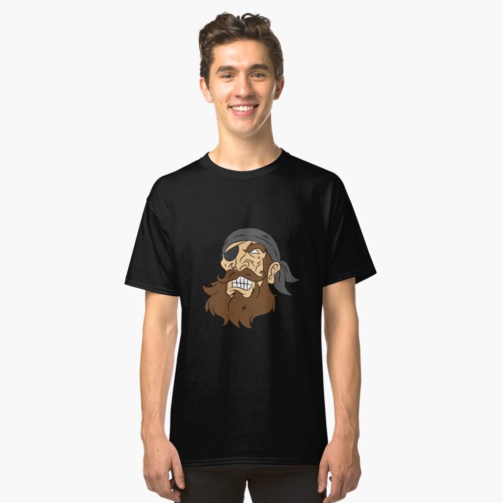 Pirate pirate head sailor lake gift laugh Classic T-Shirt