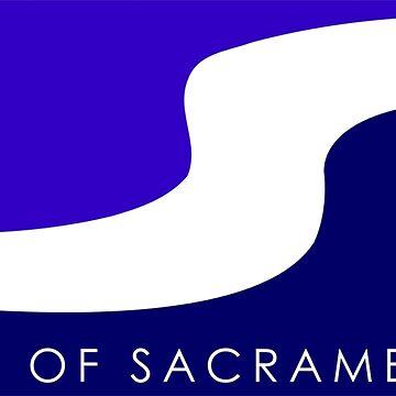 Sacramento Flag California by sweetsixty