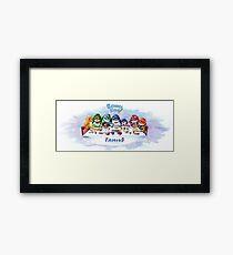 Benny Blue - Family Framed Print
