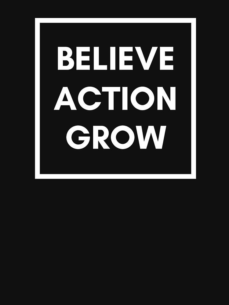 Growth Mindset: Believe, Action, Grow by mia-scott