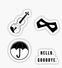 Umbrella Academy Starter Pack Sticker