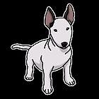 «Bull terrier, perro, dibujo» de nijess
