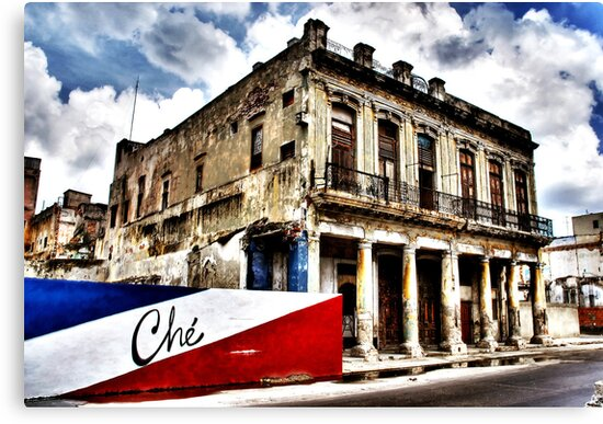 Habana downtown by rafael magallanes
