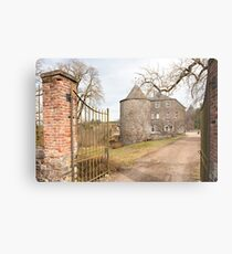 Rolley Castle near Bastogne, Belgium Metal Print