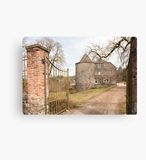 Rolley Castle near Bastogne, Belgium Canvas Print