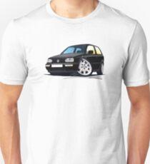 VW Golf (Mk3) Black T-Shirt