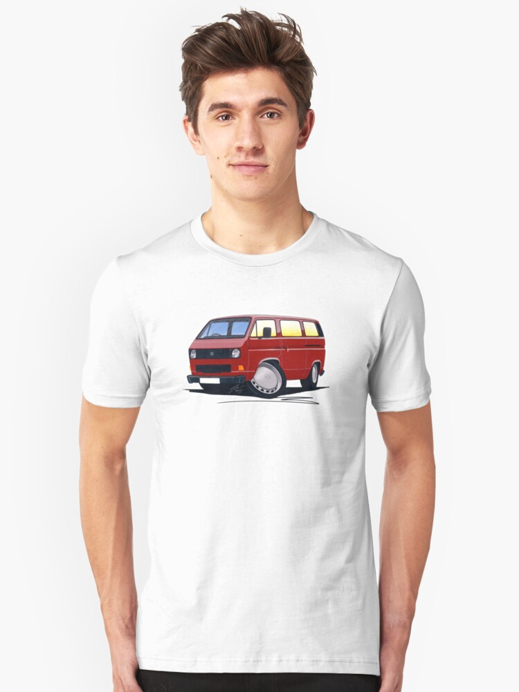 VW T25 / T3 D.Red by yeomanscarart