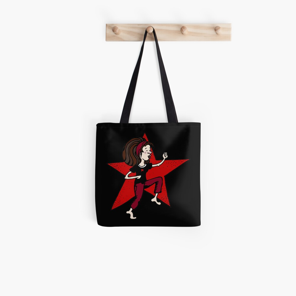 Red girl 1 Tote Bag