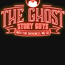Red Neon Ghost Story Guys by ghoststoryguys