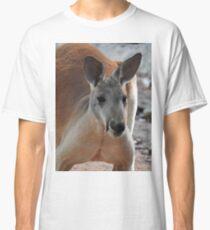 Roter Känguru Classic T-Shirt