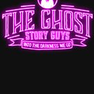 Pink Neon, Ghost Story Guys Classic Logo by ghoststoryguys