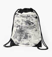 Monkey Dream #2 - Series of 5 Monotypes - Drawstring Bag