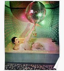 Disco Bubbles Poster
