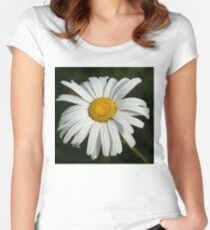 Just a Daisy - Simply Beautiful Women's Fitted Scoop T-Shirt