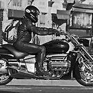 Motorbike by Tony  Glover