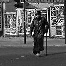 urban crossing by Tony  Glover